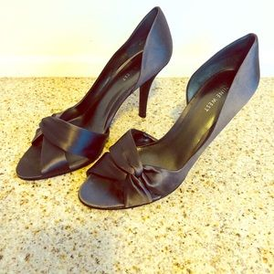 Nine West satin heel NWJOJUS Dark Grey